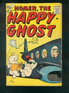 HOMER THE HAPPY GHOST #11 1956-DAN DeCARLO AIRPLANE CVR G