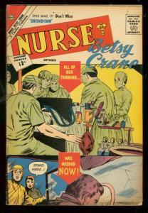 NURSE BETSY CRANE #18 1962-CHARLTON COMICS-SURGERY FN-