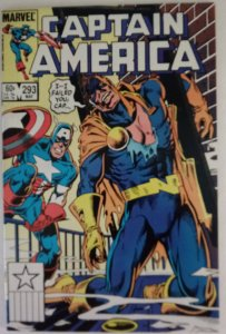CAPTAIN AMERICA #293 Marvel Comics ID#MBX2