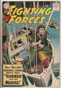 Our Fighting Forces #53 (Jan-60) VF/NM High-Grade Gunner and Sarge, Pooch