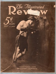 Illustrated Review 11/1918-WWI era military pix-Bud Fisher photo-historic-VG-