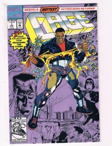 Cage # 1 NM Marvel Comic Book Modern Age 1992 Issue Defenders Power Man Luke S72
