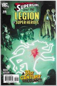 Supergirl and the Legion of Super-Heroes (LOSH vol. 5) #19 VF/NM Waid/Kitson