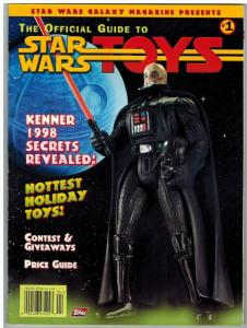 OFFICIAL GUIDE TO STAR WAR TOYS (1997 TOPPS) 1 VG-F