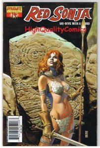 RED SONJA #14, JG Jones cv, Robert Howard, 2005, VF