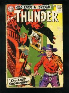 ALL-STAR WESTERN #111 1960-TRIGGER TWINS-JOHNNY THUNDER-LOW GRADE COPY P/FR
