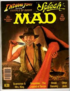 Lot Of 3 Mad Magazines # 250 165 220 Parody Humor Comedy Star Wars Indiana JG11