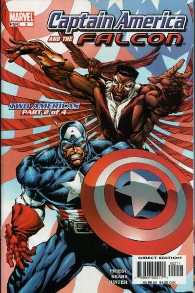 Captain America and the Falcon (2004 series) #2, NM (Stock photo)