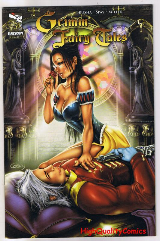 GRIMM FAIRY TALES 51, NM, Glass Coffin, Zenescope, 2005, more GFT's in our store