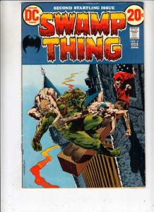 Swamp Thing #2 (Jan-73) VF High-Grade Swamp Thing