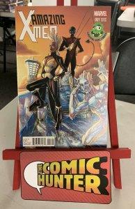 Amazing X-Men #1 2014 Marvel Laughing Ogre Comics Variant 9.0