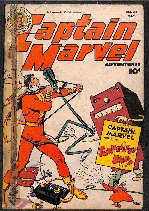 Captain Marvel Adventures #84 Very Low Grade