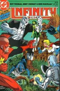 Infinity Inc. (1984 series) #3, NM + (Stock photo)