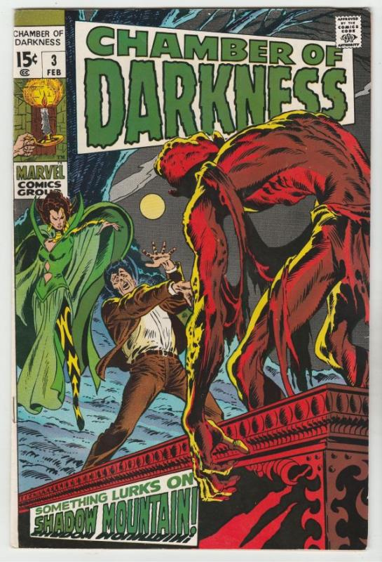 Chamber of Darkness #3 (Feb-69) FN/VF+ High-Grade