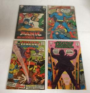 Justice League Of America 62 63 64 65 66 68 69 70 Gd-Vg Good-Very Good 2.0-4.0