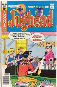 Archie JUGHEAD (1965 Series) #283 VG-