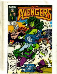 Lot of 9 The Avengers Marvel Comics #297 299 300 301 302 Annual #13 15 16 17 GB2