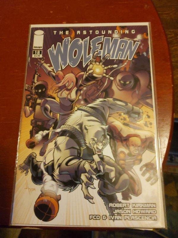 The Astounding Wolf-Man #18 (2009)
