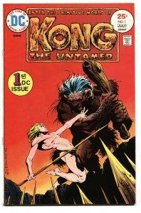 Kong the Untamed #1 1975- Berni Wrightson- DC Comics VF/NM