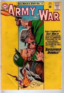 OUR ARMY AT WAR #135 1963-DC WAR COMIC-SGT. ROCK-VG VG