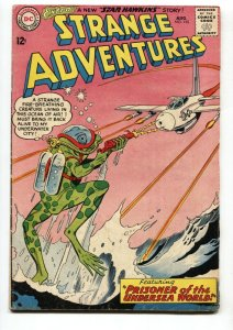 Strange Adventures #155 1963- Frog monster cover- Undersea World VG