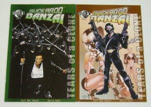 Buckaroo Banzai: Tears of a Clone #1-2 VF/NM complete series - paul gulacy A