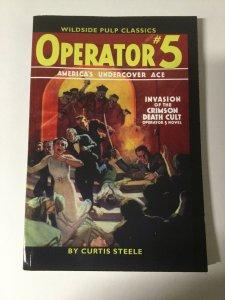 Secret Service Operator 5 Invasion Of Crimson Death Cult Near Mint Pulp Reprint