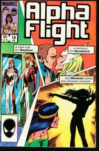 ALPHA FLIGHT #18-MARVEL COMICS-MUTANTS! NM