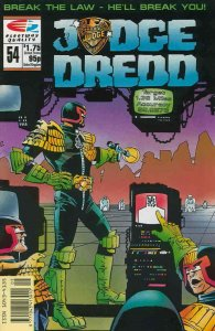 Judge Dredd (Vol. 2) #54 VF; Fleetway Quality | save on shipping - details insid