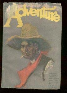 ADVENTURE PULP-NOV 10 1922-TALBOT MUNDY-SABATINI-McKELL-good/very good G/VG