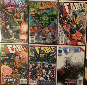 CABLE MARVEL #25,26,34,35,36,38 ALL NM CONDITION
