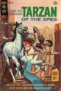 Tarzan (Gold Key) #198 VG; Gold Key   low grade comic - save on shipping - detai