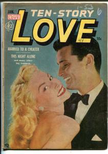 Ten-Story Love Vol. 30 #6 1953-Ace-former pulp-spicy romance-photo cover-VG