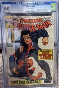 The Amazing Spider-Man #73 (1969) CGC 9.0!