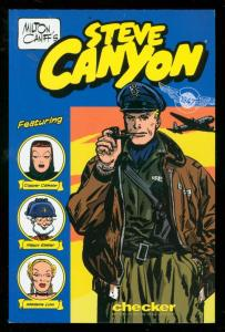 MILTON CANIFF'S STEVE CANYON: 1947 TRADE PAPERBACK-2003 VF/NM