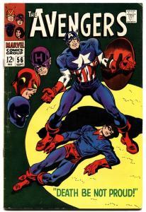 AVENGERS #56 1968-MARVEL-CAPTAIN AMERICA-fn