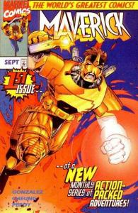 Maverick (Sept 1997 series) #1, NM- (Stock photo)