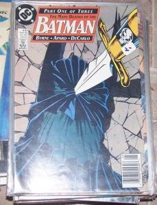 Batman #433 (May 1989, DC) many deaths of batman john byrne