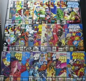 IRON MAN BIG OL' COLLECTION! 29 ISSUES! #200 AND UP! Teen Tony Stark,Iron Monger