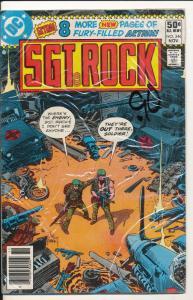 DC Comics: Sgt. Rock #346 1980 FINE 6.0 (hx9)