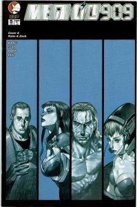 Megacity 909 #5 Devil's Due Kano & Zack Cover A Variant NM