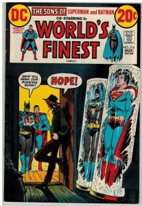 WORLDS FINEST 216 FN Mar. 1973 COMICS BOOK