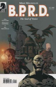 B.P.R.D.: The Soul of Venice #1 VF; Dark Horse | save on shipping - details insi