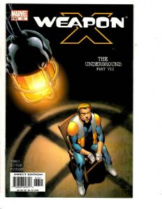 10 Weapon X Marvel Comics # 13 15 16 17 18 19 20 + Wolverine Days OFP 1 2 3 CR53