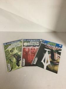 Green Arrow 1 2 3 Lot Set Run Nm Near Mint DC Comics Rebirth