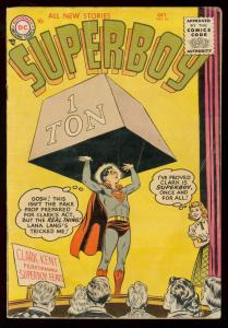 SUPERBOY #44 1955 DC COMICS NICE COPY CLARK KENT GOLDEN VG