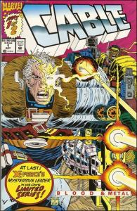 Marvel CABLE: BLOOD AND METAL #1 VF