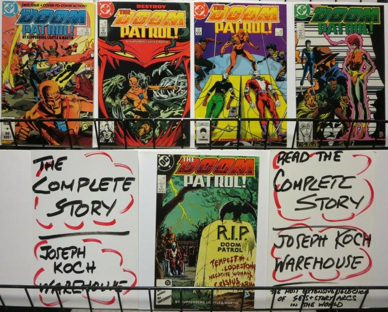 DOOM PATROL (1987) 1- 5 Lightle, new ERA THE SET!