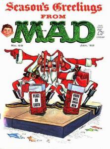 Mad (1952 series) #68, VG- (Stock photo)