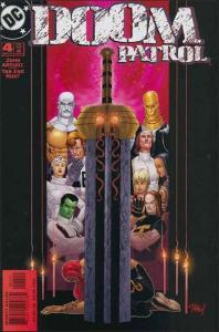 DC DOOM PATROL (2001 Series) #4 VF